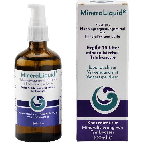 MineraLiquid Mineralisierung von Trinkwasser