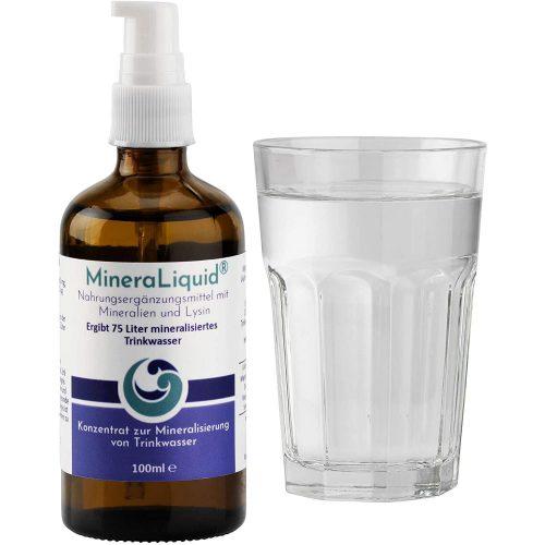 MineraLiquid Mineralisierung von Wasser